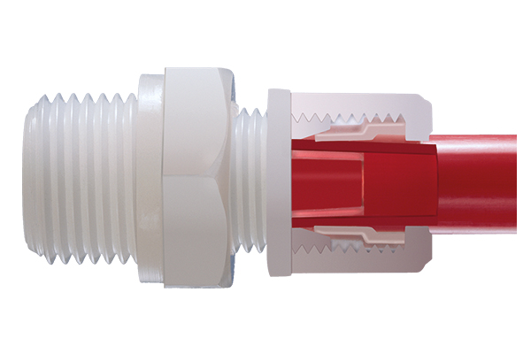 Compression fittings - flexible tubing
