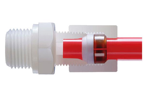 Compression fittings - rigid pipe
